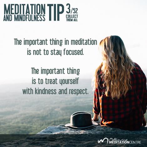 Meditation & Mindfulness Tip #3