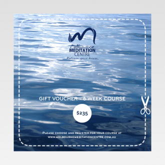 Gift Voucher - 6 Week Meditation Course