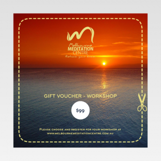 Gift Voucher - How to Meditate Workshop