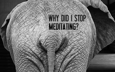 Why Did I Stop Meditating?