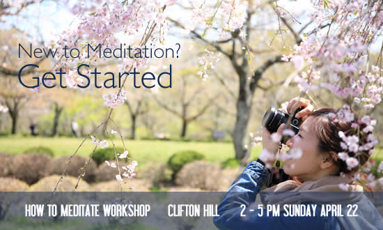 How To Meditate Workshop